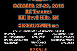 Halloween International Film Festival - Oct. 27-29, 2016