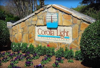 corolla light resort rental homes condos