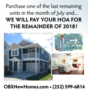 obx new homes for sale