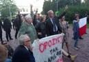 Obywatele RP na terenie Sejmu z posłanką Joanną Scheuring-Wielgus, senatorem Bogdanem Klichem i senator Barbarą Zdrojewską