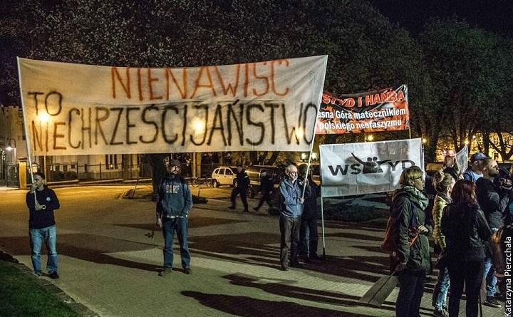 Ruchy demokratyczne przeciwko narodowcom w Częstochowie