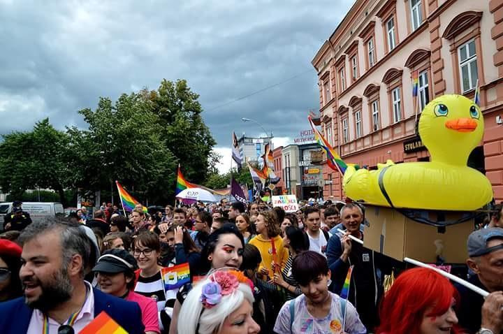 I Marsz Równości wRzeszowie