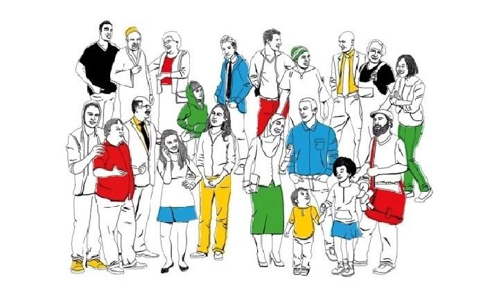Grafika ze strony internetowej Demokratie Leben