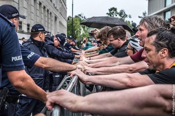 Demonstracja przedSejmem, 18.07.2018