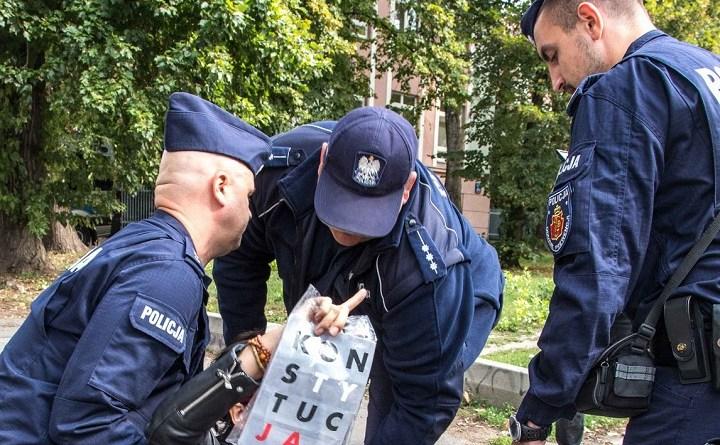 Siedem pytań Obywateli RP doKomendanta Głównego Policji
