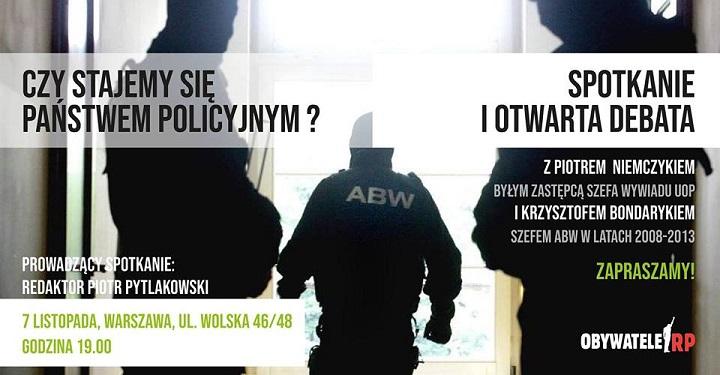 Jak rodzi się państwo policyjne