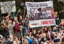 Obywatele RP niesą osobami niepożądanymi. Topolicja 1 sierpnia przekroczyła uprawnienia usuwając nas siłą zplacu Krasińskich