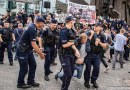 Złożyliśmy zawiadomienie wsprawie 1 sierpnia. Policja bezprawnie nas zniosła zpl.Krasińskich izatrzymała