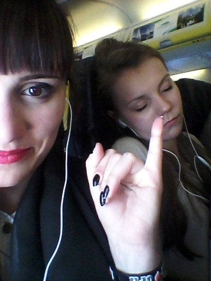 flying to Poland (31.05.2015)