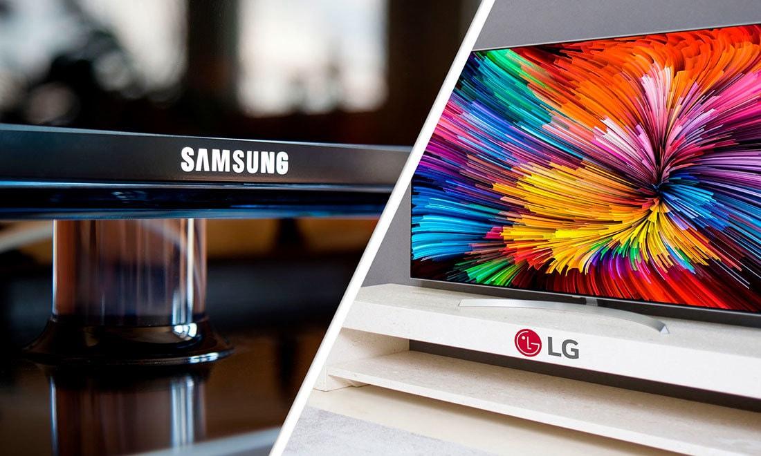 أي تلفزيون أفضل: LG أم Samsung