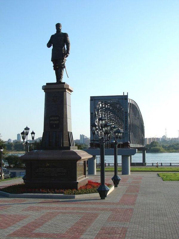 Памятники Новосибирска (Фото)