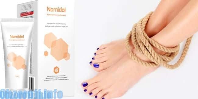 Nomidol - gél gombás betegségek kezelésére
