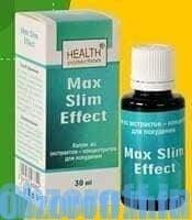Капли Max Slim Effect для похудения
