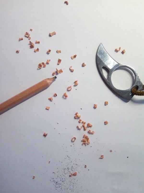 Нож-коготь-керамбит или зачем я это купил?