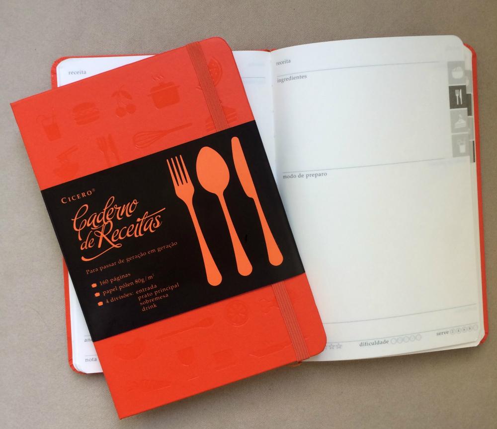 Loja O Caderno de Receitas