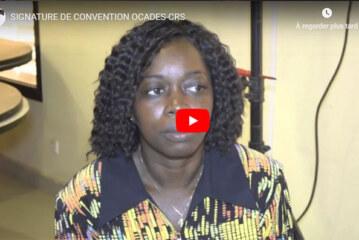 Signature de convention OCADES-CRS