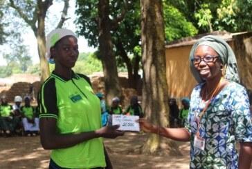 Bouéré/Houndé: Cérémonie de partage des gains financiers d'une valeur de 1.346.100 F CFA