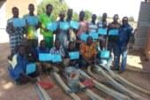 Réalisation de latrines familiales économiques :  Les capacités opérationnelles de 125 maçons renforcées