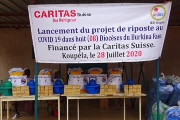 L'OCADES Caritas Burkina en partenariat avec Caritas Suisse, lance un projet de riposte à la Covid-19 à Koupéla.