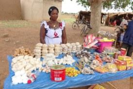 Cathérine Sango, bénéficiaire de formation en activités génératrices de revenus de l'OCADES