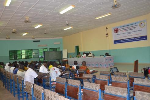 Les EPA du diocèse de Diébougou pendant leur formation