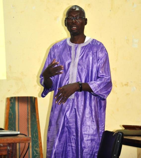 •Sidi Bachir TAMBOURA de Christian Aid, coordonnateur provincial du consortium au Soum