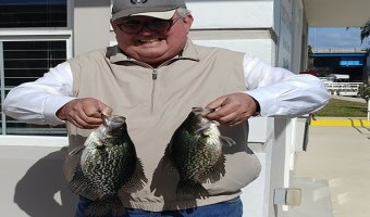 Crappie Speck Fishing in North Florida on the St Johns River