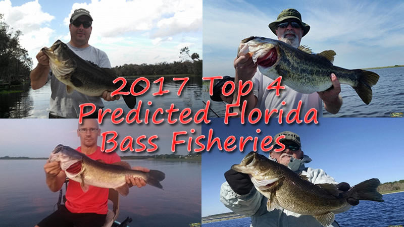 2017 top 4 florida trophy bass fisheries ocala florida for Best bass fishing in florida