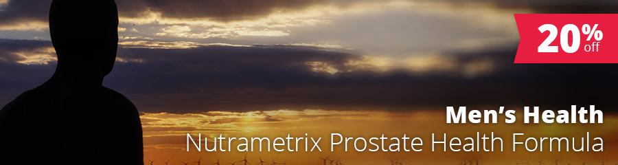 "November Special: 20% Off* nutraMetrix® Prostate Health Formula — ""In-Office"" Purchase Only"