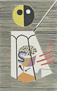 DAVIS, STUART (1892 - 1964) SALT SHAKER, 1931