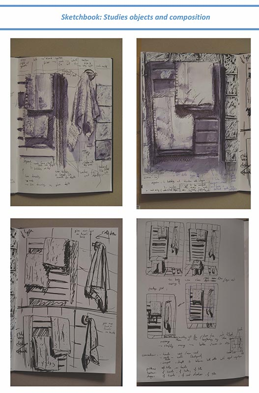 Stefan513593 - project 4 - exercise 1 - sketchbook studies