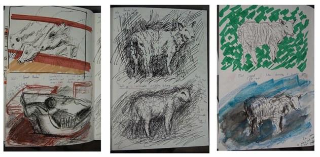 Stefan513593 - visual sketchbook studies: animals 2