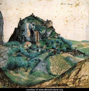 Duerer, Albrecht 'View of the Arco Valley' Circa 1495