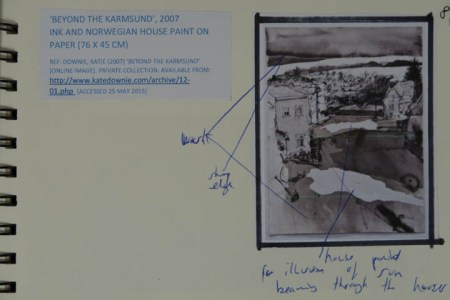 Kate Downie - 'Beyond the Karmsund', 2007