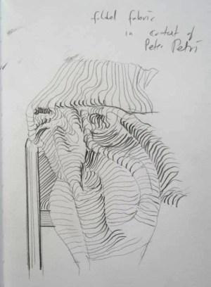 Stefan513593 - folded fabric in context Peter Peri