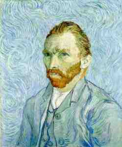 GOGH, VINCENT van_Self portrait_1889