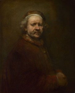 Rembrandt, 1606 - 1669 Self Portrait at the Age of 63 1669 Oil on canvas, 86 x 70.5 cm Bought, 1851 NG221 http://www.nationalgallery.org.uk/paintings/NG221