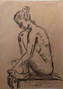 Life drawing 10/29/2015