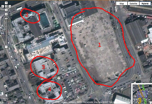 Google map of Cork
