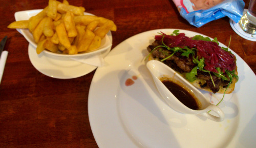 Blue Haven Kinsale Open steak sandwich