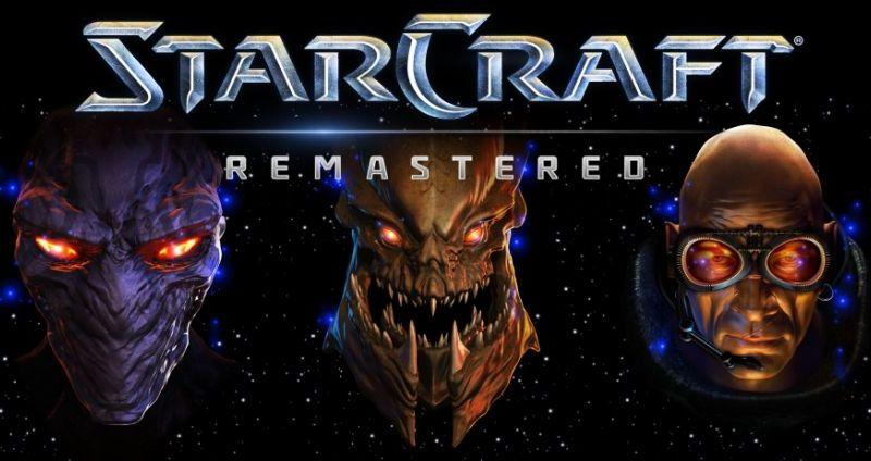 Blizzard anuncia oficialmente a remasterização de StarCraft