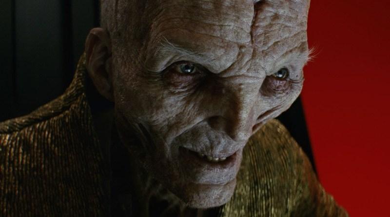 Andy Serkis pode ter revelado spin-off do Supremo Líder Snoke