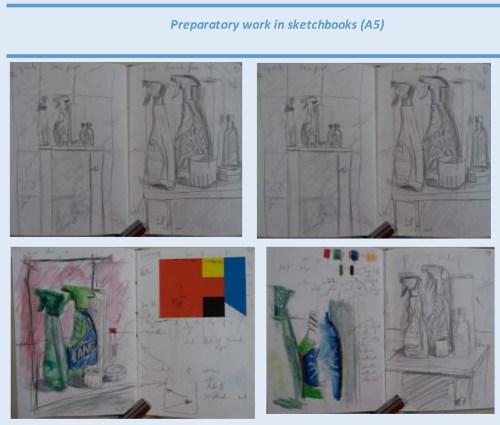 Stefan513593 - Project 2 - Exercise 1 - sketchbook A5