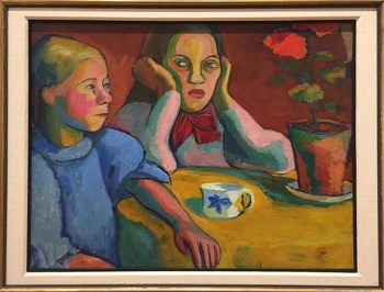 Sonia Delaunay_Deux Fillettes Finlandais_1907sm