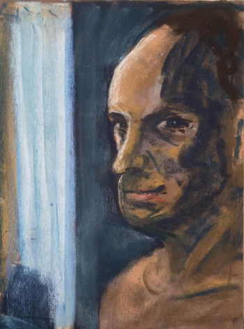 Stefan513593 - daily self-portrait #26: Pastel on PastelCard (40x30cm)