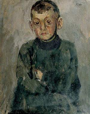 Sickert, Walter Richard; One of Madame Villain's Sons; Charleston; http://www.artuk.org/artworks/one-of-madame-villains-sons-73854