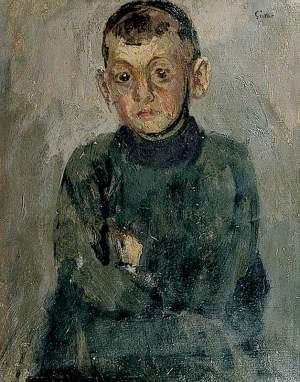 Sickert, Walter Richard; One of Madame Villain's Sons; Charleston; http://www.artuk.org/artworks/one-of-madame-villains-sons-73854