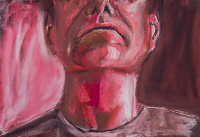 Stefan513593 - daily self-portrait #48: Pastel on PastelMat (50x35cm)