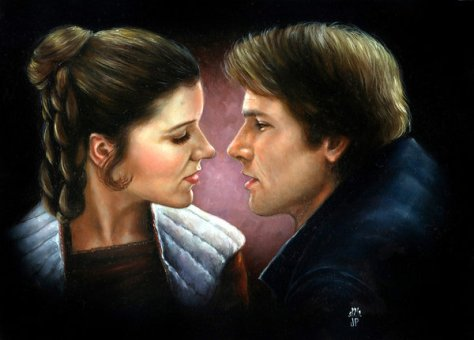 Han_Solo_and_Leia_by_Melanarus