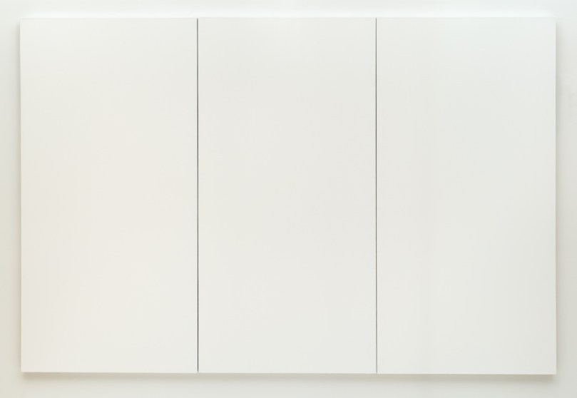 Robert Rauschenberg 'White Painting three panel', 1951 - https://www.sfmoma.org/artwork/98.308.A-C#artwork-info
